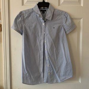 Tommy Hilfiger blouse button up shirt